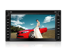 universal double din car dvd player with gps bluetooth
