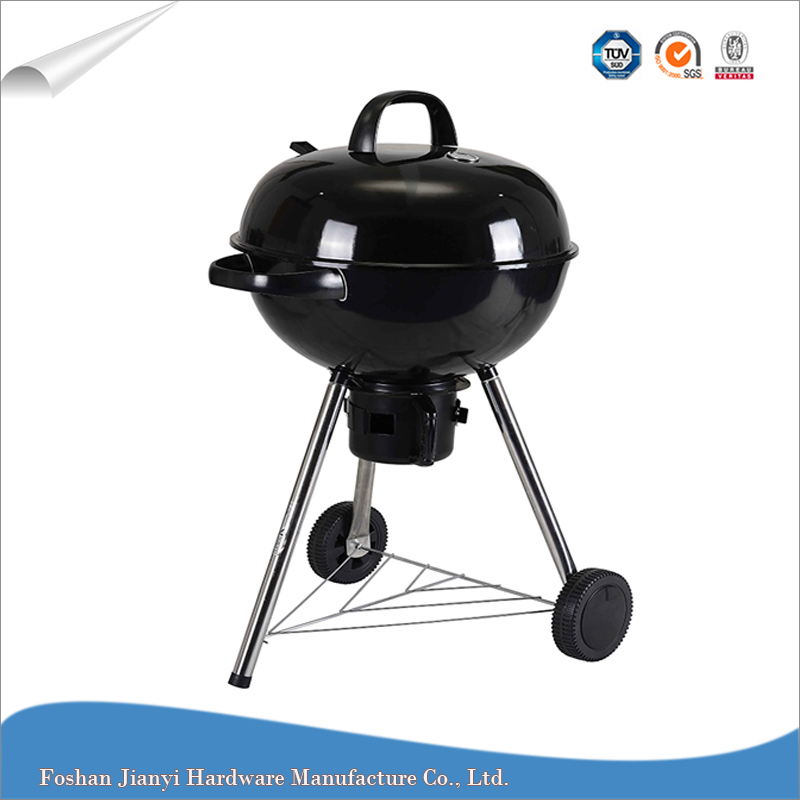Black Weber Japanese Charcoal BBQ Grill Outdoor Barbecue
