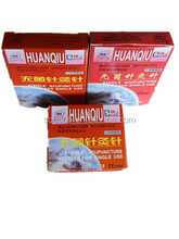 NO Tube for any sizes Sterile Medical Acupuncture Chinese Needles Without ring handle HuanQiu