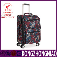 New travel bags nylon portable folding trolley suitcase luggage