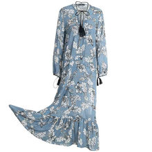 Different Designs Casual Dresses Latest Dress Designs Wholesale Custom Chiffon Floral Designer Clothing Manufacturers in China