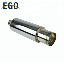 Low Price Stainless Silencer Burn Tip Exhaust  Muffler Pipe For Car
