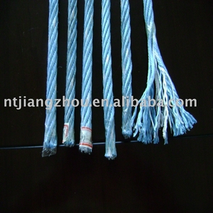 galvanized steel wire ropes for fishing