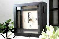 Japanese Antique Style Table Clock Mini B