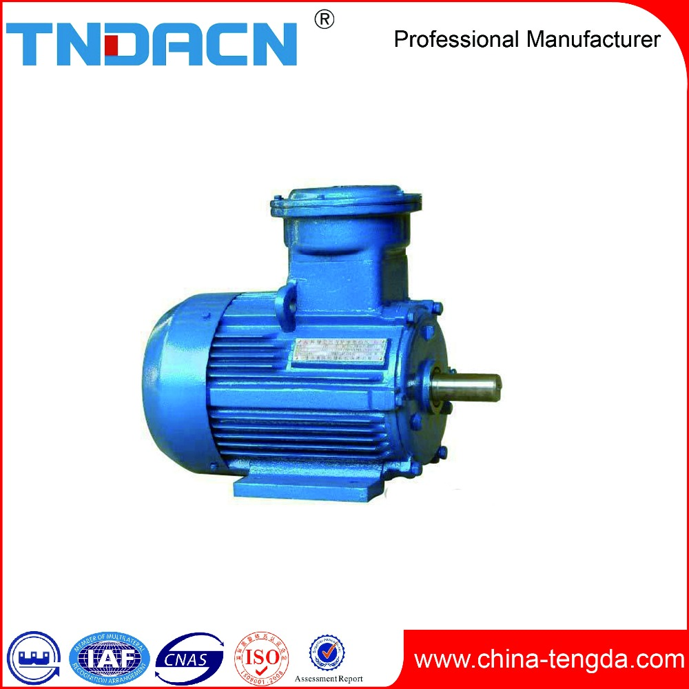 High Efficiency Explosion Proof Aluminum Electric Motor Body Three-Phase Asynchronous Motor