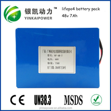 China OEM 24v 48V 72v 20ah battery pack for electric bike, electric scooter, golf trollery in USA market