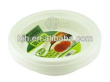 Round Disposable Dinner Dishes for wedding PP sauce Dishes