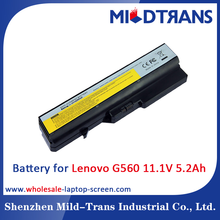 wholesale replacement laptop Li-ion Battery for Lenovo G560 11.1V 5.2Ah notebook battery