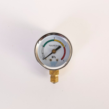 Y series industry iron case bourdon tube normal pressure gauge 0~1.6mpa