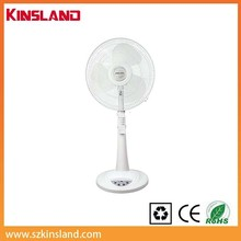 new design 16'' rechargeable fan for home appliance