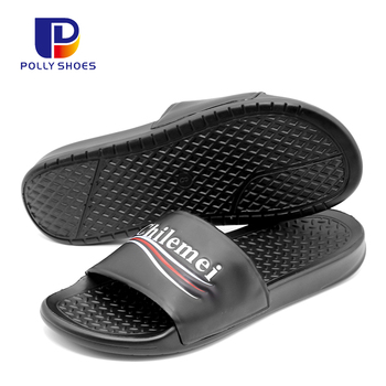 Wear Resistance Wholesale Custom Slippers Mens Slides Footwear