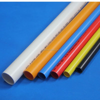 flexible accordion pipe polyethylene pipe brown pvc pipe