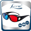 stereo movie plastic red and blue 3d glasses