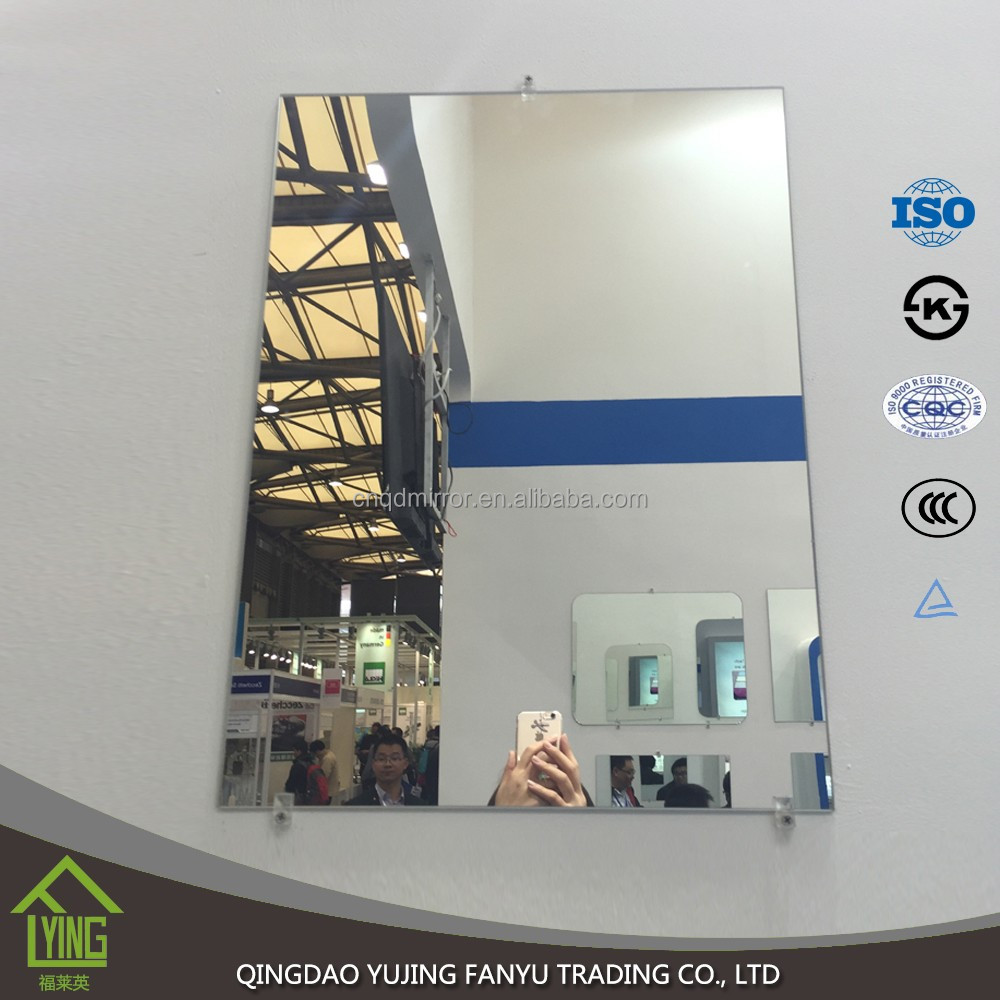 1.8-6mm thickness Best Quality Aluminum Float GLass Mirror