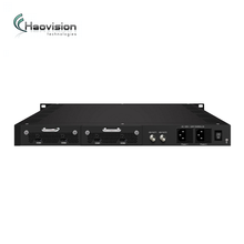 4 in 1 h.264 hardware encoder HD/SD AC3 option ASI/IP output