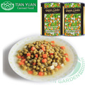 2017 Hot Sale Canned Mixed Vegetables in brine with carrot, peas,potato