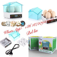 HHD brand Mini 4 Eggs Automatic chicken Egg Incubator Made In China