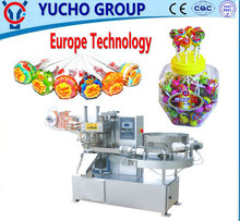 China Big Factory Good Price Lollipop Candy Flow Packaging Machine