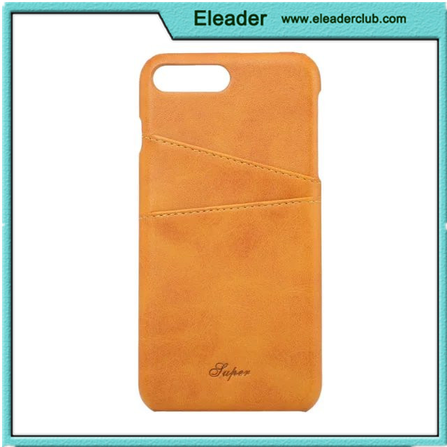 hot selling new case for iphone 7 genuine Leather wallet