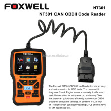 2016 Free Ship FOXWELL NT301 OBD OBDII Car Code Reader Diagnostic Scan Tool Multi-systemm Scanner for all OBD2 Compliant Cars