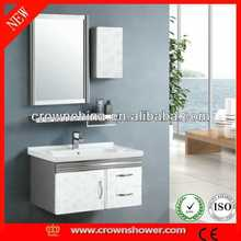 stainless steel bathroom cabinet,bathroom vanity cheapest formaldehyde free bathroom furniture