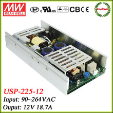 Meanwell 12v 18.7a power supply with PFC function USP-225-12