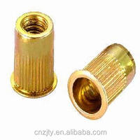 lower price high quality OEM/ODM M3-M12 knurled flat head rivet nut