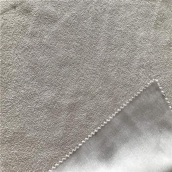 Recycled suede Bonding fabric