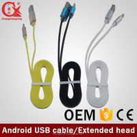 good quality wiring color code factory supplier certified yellow color micro usb cable walmart