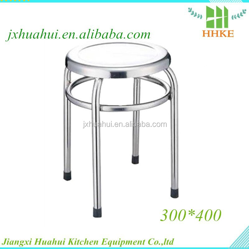 GMP 304 material stainless steel lab stool camel stool for sale