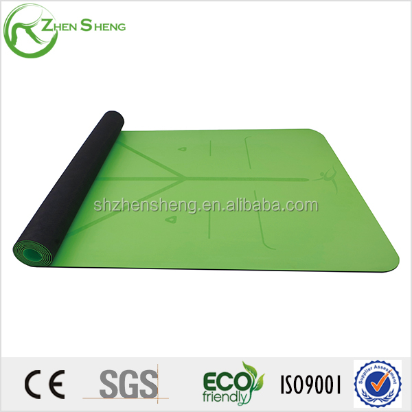 Zhensheng high elasticity and resilience natural rubber yoga mat