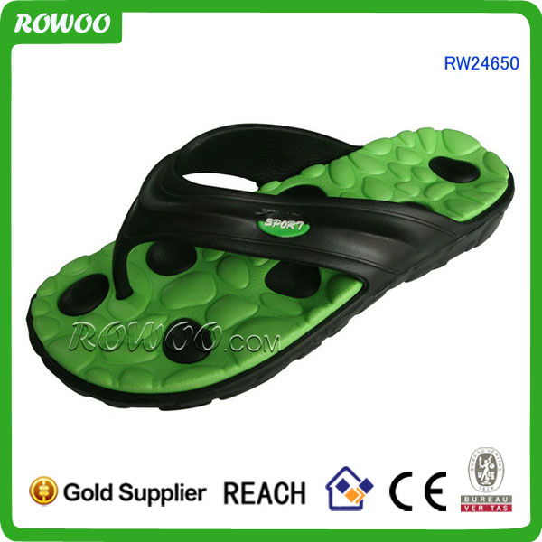 massage slipper with therapy function