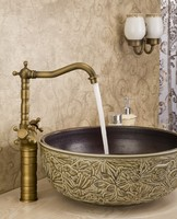2014 brass top-selling antique bathroom promise faucets