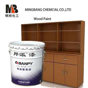 Polyurethane glossy wood varnish