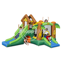 Happy Hop Inflatable Slide Bouncer -9071 Inflatable Castle Bounce With Slide