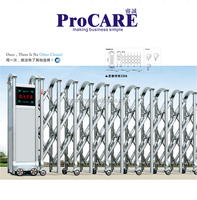 Promotion driveway gates folding gate automatic gate for sale