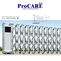 Promotion Driveway Gates Folding Gate Automatic