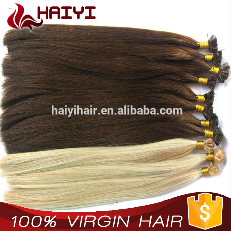 2016 Own Brand Wholesale Distributors Factory Directly 1 Gram I tip Hair Extensions