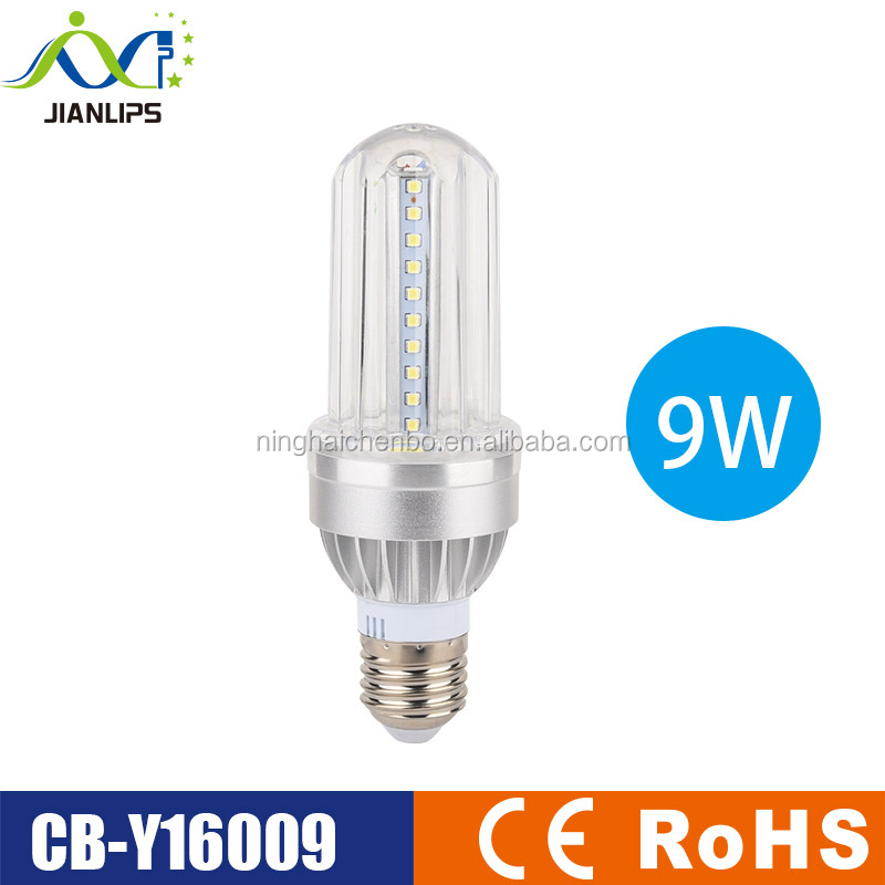 Aluminum led bulb E27 E14 B22 AC85-265V SMD2835 9W led bulb CE ROHS led energy saving light