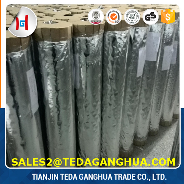 Metallized Film Type and PET/PVC,PVC Material Silver Metallized film