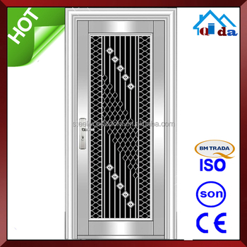 QD-SS073 Entrance Anti- theft Villa Main Ss Stainless Steel Door Design