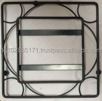 Metal Square Trivet for Tile