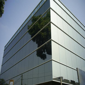 exterior building Aluminum frame exterior wall Reflected glass curtain wall