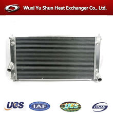 high performance aluminum auto racing radiator