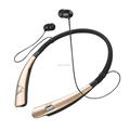 New neckband type wireless bluetooth headphone for mobile phone
