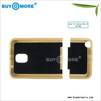 factory price wood case for samsung galaxy note 3/s4 case wood case