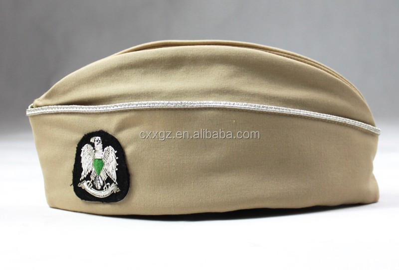 Professional Design Army Training Cotton Polyester Military Garrison Cap