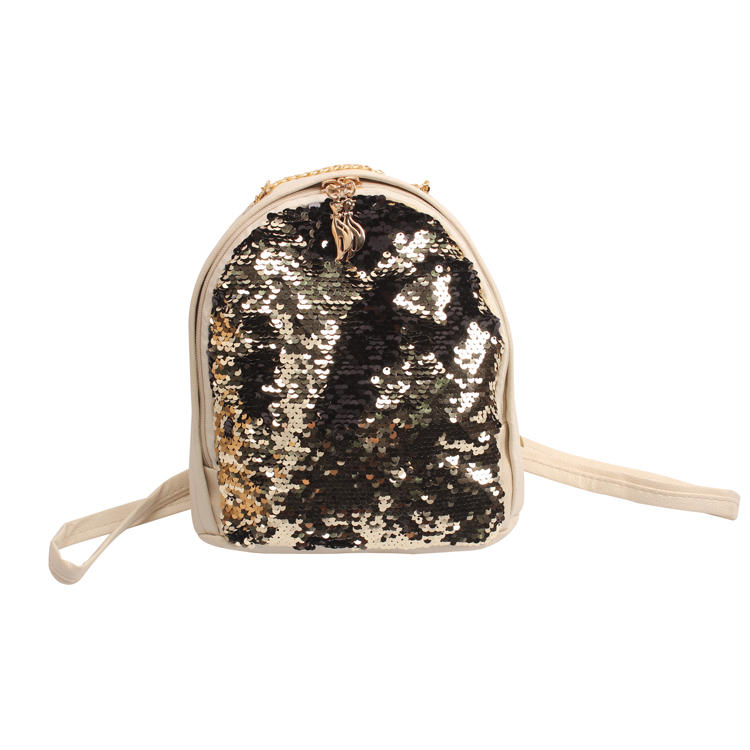 Magic Reversible Bag Sequin School Backpack Sparkly Lightweight Back Pack for Girls
