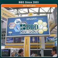 Outdoor advertising led programmable sign display board