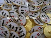 Promotional Cheap Custom Metal Badge.button badge for gift